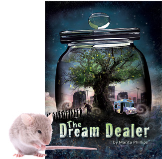 The Dream Dealer by Marita Phillips - a popular children's fantasy book for boys and girls from 9-13 years